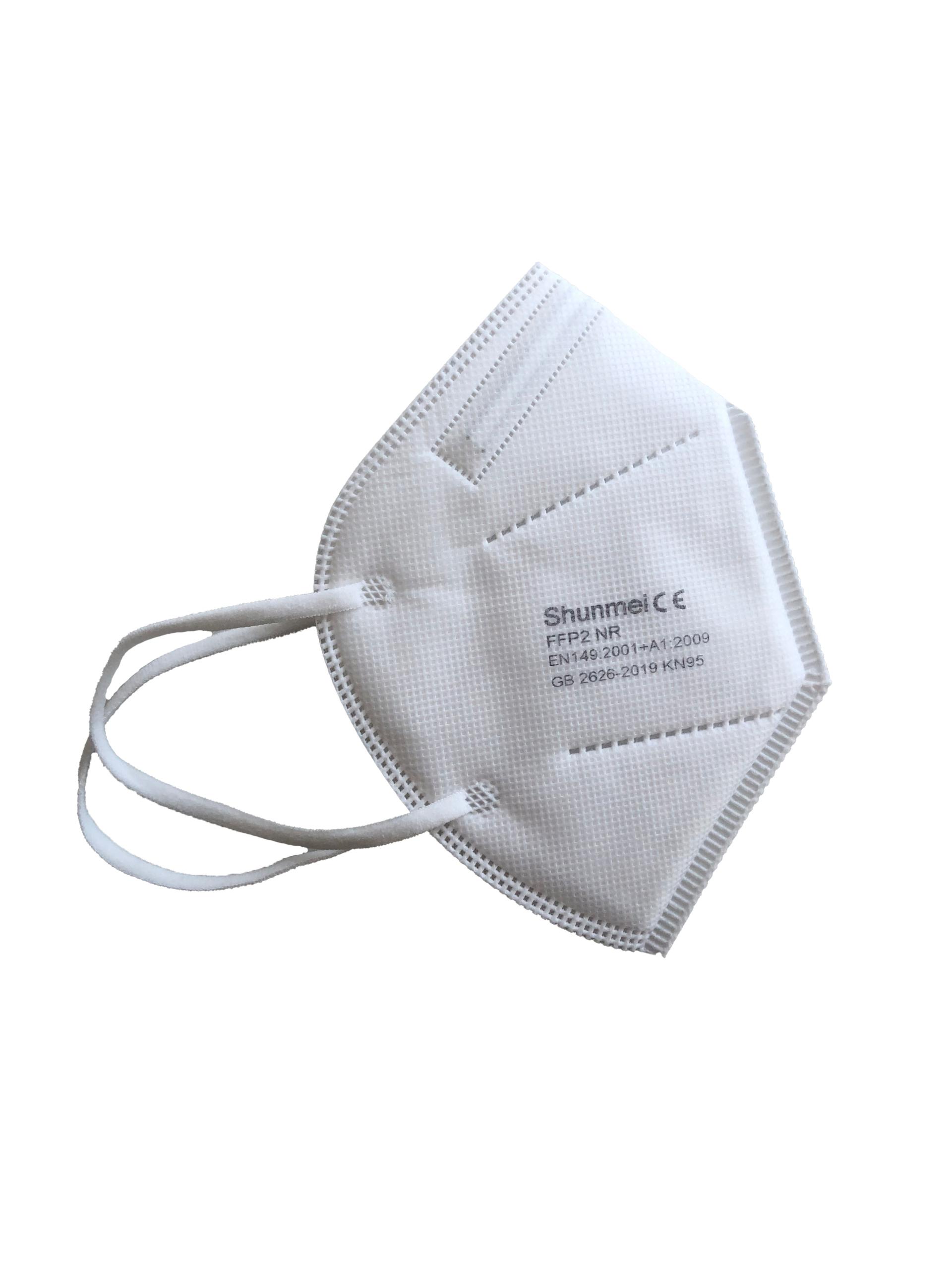 FFP2 Maske - 10er Pack (4.15 pro Maske) Staubmaske zum ...