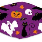 Halloween mix purple