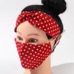 Red_Hearts_Fabric Mask_Headband Set
