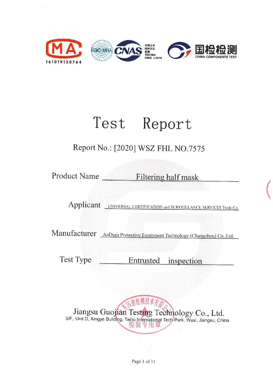Test Report FFP3